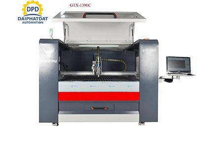 Máy Cắt Laser Fiber + Laser CO2 _GTX-1390_GTX-1325C_GTX-1530C